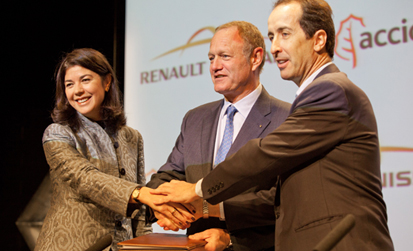 ACCIONA and Renault-Nissan Alliance join forces to advance the roll-out of Electric Vehicles