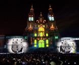 GPD celebrates Santiago Cathedral's 8th Centenary with 4D technology