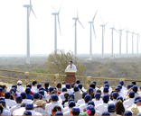 The President of Mexico inaugurates the biggest wind power complex in Latin America, owned by ACCIONA in Oaxaca